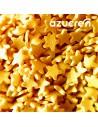 Estrellas doradas de azucar