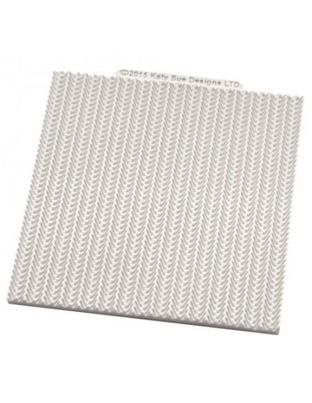 Molde silicona tejido lana