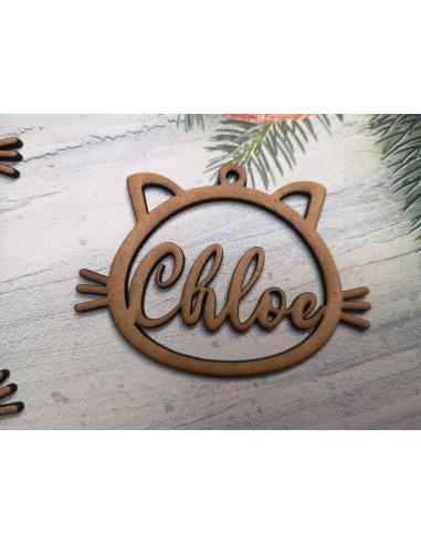 Bola Navidad personalizada mascota gato