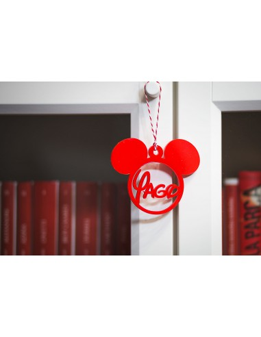 Bola árbol navidad personalizada Minnie