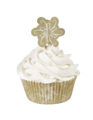 Wilton Combo Cupcakes Brillantes y Alegres, 24u.