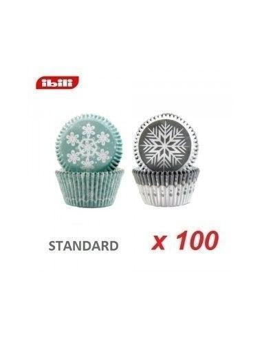 Capsulas copos de nieve Ibili 100 und