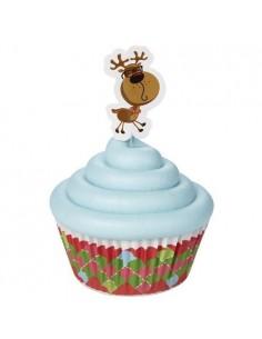 Wilton Combo Cupcakes Dulces Vacaciones, 24u.