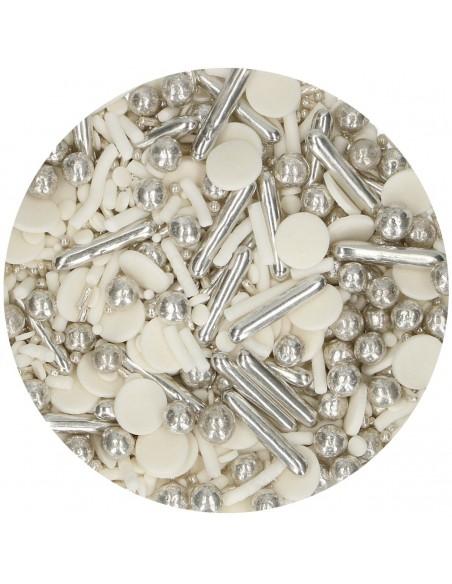 Sprinkles Medley Silver Chic