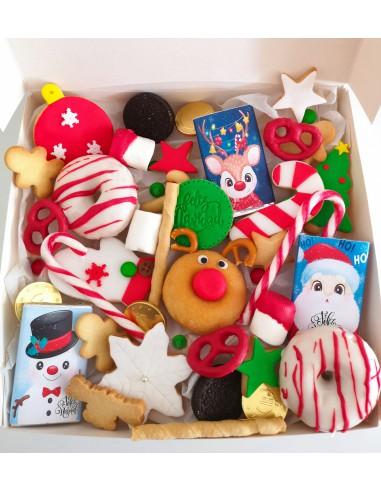 Caja de dulces variados Navideños
