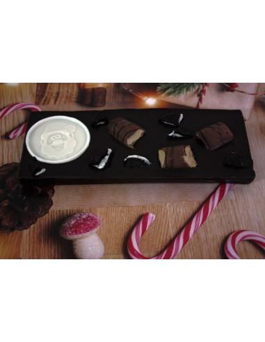 Tableta de chocolate Navideña