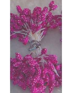 Estambres granulados 5mm rosa fuerte