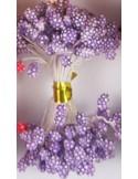 Estambres granulados 5mm lila