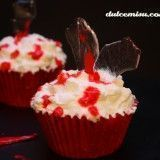Cupcakes red velvet Halloween