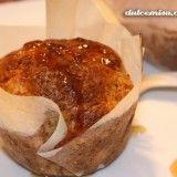 Muffins de calabaza, mascarpone y miel. Reto alfabeto dulce