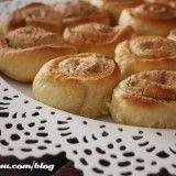 Rollitos de crema de cacahuete