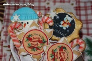 Galletas navidenas con papel de azucar(10)