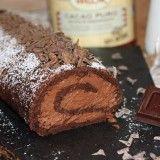 Brazo de chocolate y trufa. Chocolate challenge