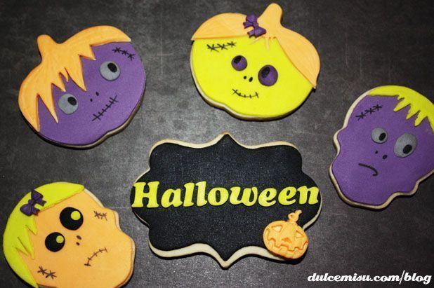 Como Hacer Galletas Decoradas Para Halloween De Monstruos