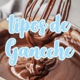 Tipos de ganache de chocolate