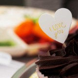 Artículos de repostería para San Valentín