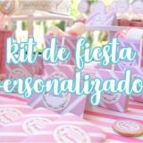 Kits de fiesta personalizados