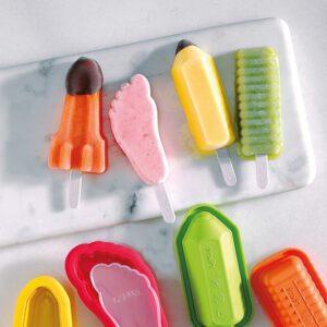 Como utilizar moldes de silicona para helados