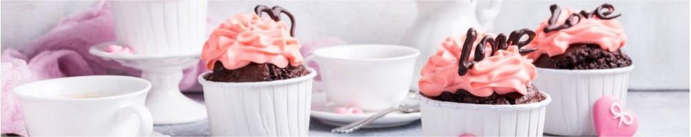 ▷ Decoración y repostería postres de San Valentín - Dulcemisu ®