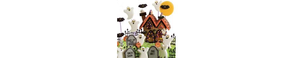 Comprar moldes para tartas, galletas, postres y recetas de Halloween