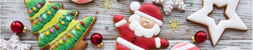 ▷ Repostería postres de Navidad, moldes galletas - Dulcemisu ®