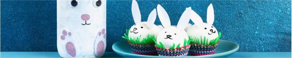 Comprar moldes y decoración para galletas y huevos Pascua | Dulcemisú