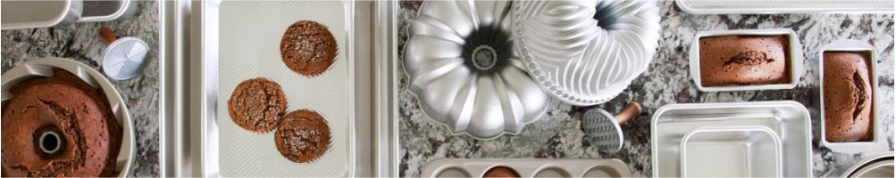 Comprar moldes Nordic Ware para repostería | Dulcemisú