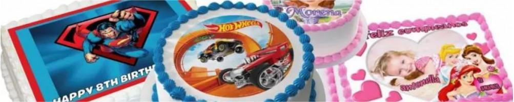 Comprar obleas para tartas personalizadas | Dulcemisú