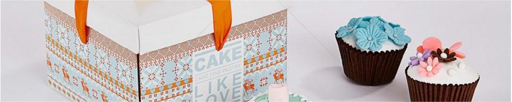 Comprar cajas para tartas, bandejas o blondas | Dulcemisú