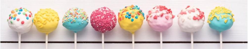 Cakepops: moldes, palitos, soportes,cajas, toppings, decoración