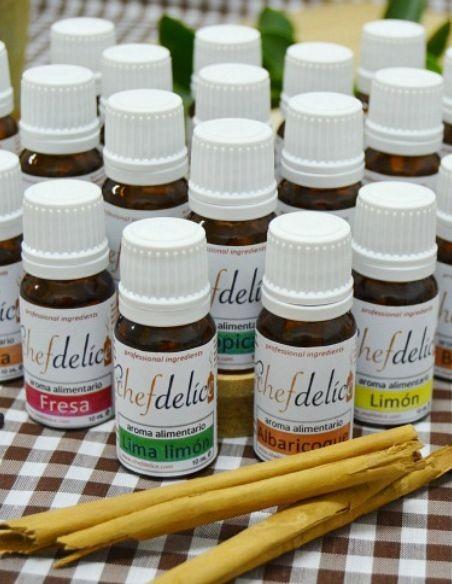 Aromas concentrados ChefDelice
