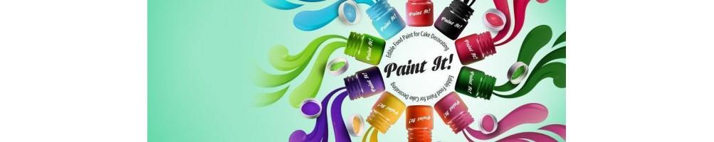 Comprar pinturas comestibles para repostería online | Dulcemisú