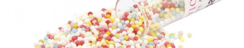 Nonpareils, perlas y bolitas