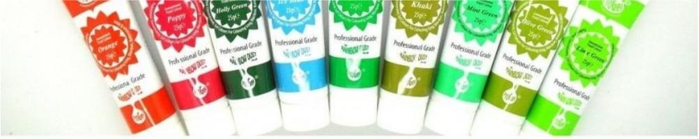 Comprar tubos de glasa y gel de repostería online | Dulcemisú