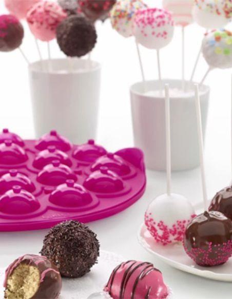 Moldes de cake pops