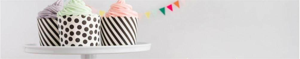 Comprar soporte de porcelona para tartas y cupcakes online | Dulcemisú