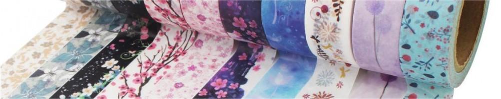 Comprar Washi Tapes y cintas de tela adhesivas para manualidades