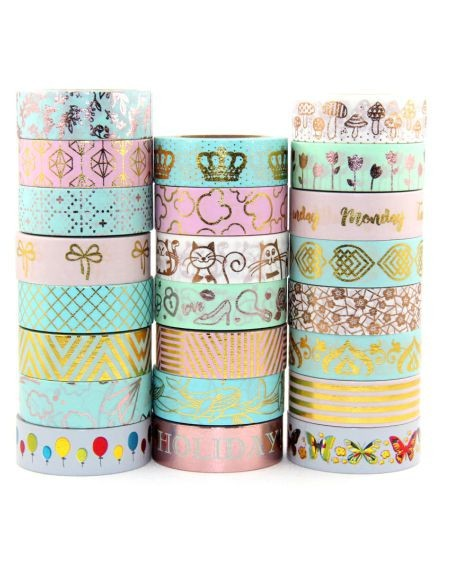 Washi tapes y  Fabric tapes